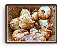 Farmers' Harvest Canvas Print