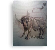 ink sketch Canvas Print