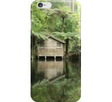 Boathouse at Alfred Nicholas Gardens, Dandenongs, Victoria iPhone Case/Skin