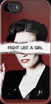 Fight Like A Girl by strikvraagje