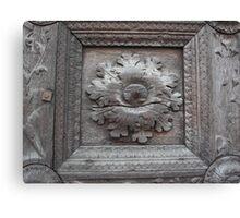 Portal of the Cathedral of Parma --- italy --- EUROPA- 2470 visualizzaz.maggio 2014-VETRINA RB EXPLORE 19 GIUGNO 2012 -- Canvas Print