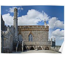 14th Century Priory Church ~ St Michael's Mount Poster