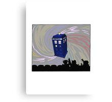 Movie time! Canvas Print