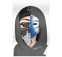 Hollywood Undead : Johnny3Tears x Charlie Scene Poster