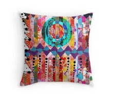 Holiday Mash Up Throw Pillow