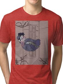 Vampire Saloon Girl Tri-blend T-Shirt