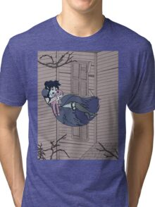 Vampire Saloon Girl Tri-blend T-Shirt