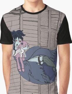 Vampire Saloon Girl Graphic T-Shirt