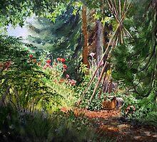 Berkeley Hills - Blake Garder by Irina Sztukowski