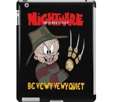 Nightmare on Elmer Street iPad Case/Skin