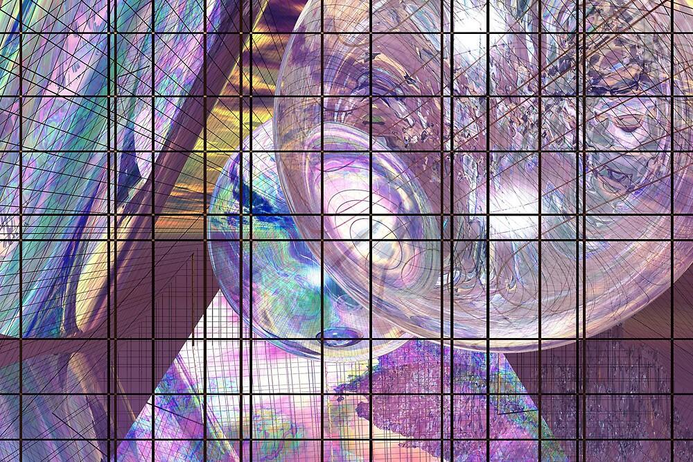 Gridline Worlds by Benedikt Amrhein