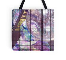 Gridline Worlds Tote Bag