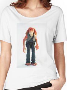 Jar Jar Star wars action figure Women's Relaxed Fit T-Shirt