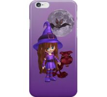 The Witch and The Cat .. iphone case iPhone Case/Skin