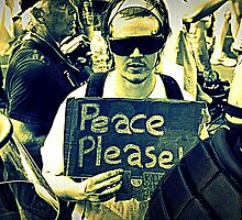 Peace Please! by C.V. Clark