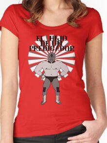 El Hijo De Un Predicador Women's Fitted Scoop T-Shirt