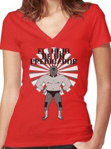 El Hijo De Un Predicador Women's Fitted V-Neck T-Shirt