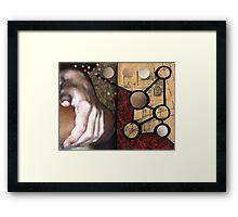 AlteredBook12 #12 Framed Print
