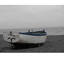 Fishing boat at Aldeburgh  Photographic Print