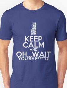 Pokemon, Missingno Keep Calm T-Shirt
