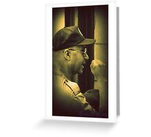 Viva La Revolution Greeting Card