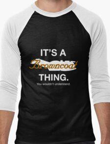 Its a Browncoat thing. Men's Baseball ¾ T-Shirt