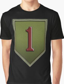 The Big Red One Insignia Graphic T-Shirt