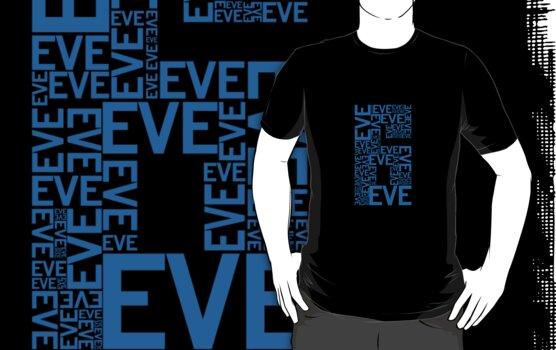 Eve 6 Typography Shirt - Blue by printskeep