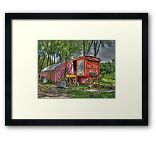 Big Top Circus Framed Print