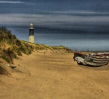 Spurn Point Lighthouse by martinhenry