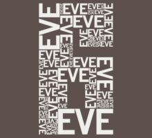 Eve 6 Typography Shirt - Light Gray by printskeep