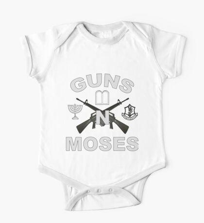 Guns 'n Moses for Dark Colors One Piece - Short Sleeve