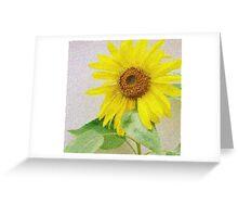 Express Sunflower Greeting Card
