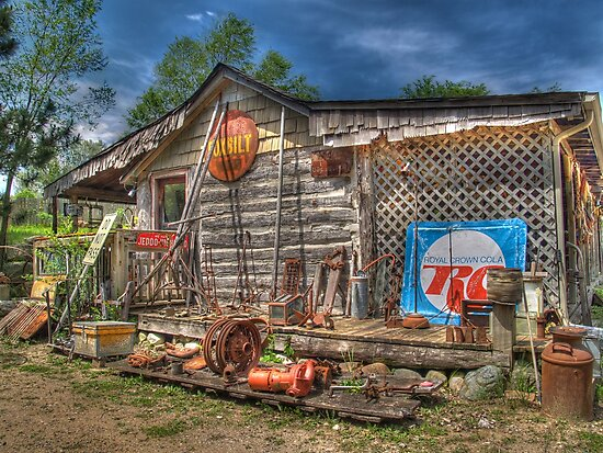 Scrap House by Jimmy Ostgard