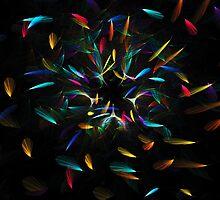 Flowing Colorful Petals by Beatriz  Cruz