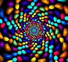 Jellybeans Twist Roll  by Beatriz  Cruz