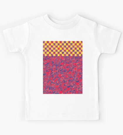 1082 Abstract Thought Kids Tee