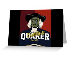 Zombie Oats Greeting Card