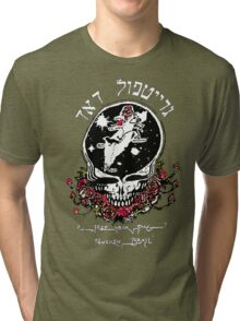 The Dead From Israel for Dark Colors Tri-blend T-Shirt