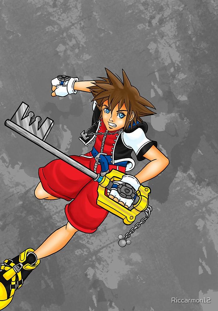 Sora the Keyblade Master by Riccarmon12