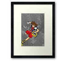 Sora the Keyblade Master Framed Print