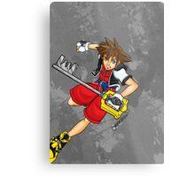 Sora the Keyblade Master Metal Print