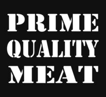 Prime Meat in White by AHakir