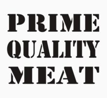 Prime Meat in Black by AHakir