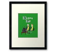 Breaking Bad - pixel art Framed Print