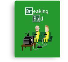 Breaking Bad - pixel art Canvas Print