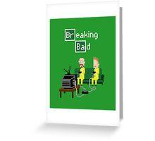 Breaking Bad - pixel art Greeting Card