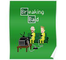 Breaking Bad - pixel art Poster