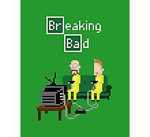 Breaking Bad - pixel art Photographic Print
