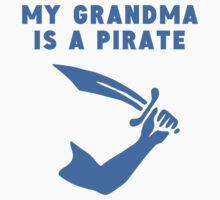 My Grandma Is A Pirate One Piece - Long Sleeve
